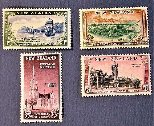 """1948 New Zealand """"Centennial of Otago"""""""