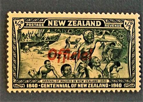 1940 Centennial of New Zealand Stamp