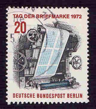 Germany Used Scott #9N334 Catalog Value $.25