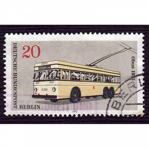 Germany Used Scott #9N338 Catalog Value $.30