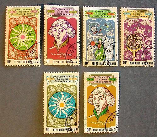 1973 Togo 500th Anniversary of Nicolas Copernicus