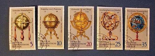 "1972 Germany (DDR Era) ""Globes"""