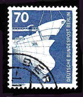 Germany Used Scott #9N366 Catalog Value $.40