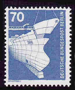 German MNH Scott #9N366 Catalog Value $.75