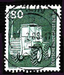 Germany Used Scott #9N367 Catalog Value $.25