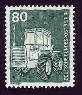 Germany Berlin Hinged Scott #9N367 Catalog Value $.70