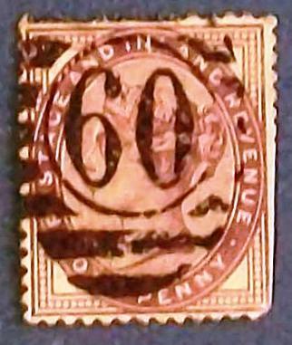 "1881 Great Britain ""Queen Victoria-Postage and Inland Revenue"""