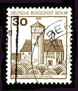 Germany Used Scott #9N394 Catalog Value $.25
