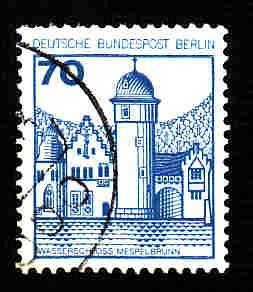 Germany Used Scott #9N398 Catalog Value $.45