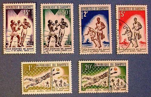 "1963 Dahomey (Benin) ""Friendship Games in Dakar"""