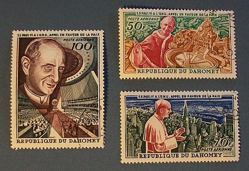 1966 Dahomey (Benin) Pope Paul VI's visit for Peace