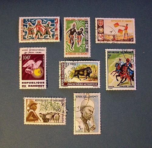 "Dahomey (Benin) ""A Variety Packet"""