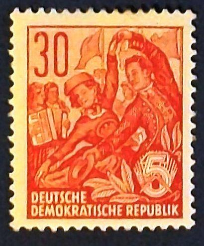 "1953 Germany (DDR-Era) ""Worker Series"""