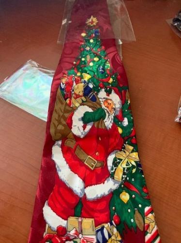 NEW Novelty Necktie fantastic Christmas tree