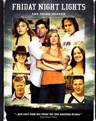 Friday Night Lights - Complete 3rd Season DVD 2009, 4-Disc Set - Very Good