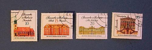 """1971 East Germany """"Berlin Buildings"""""""