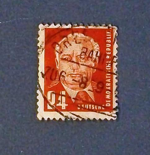 "1952-53 Germany (DDR Era) ""President Wilhelm Pieck"""