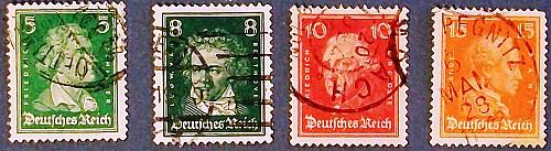 """1926 Germany (Empire Era) """"Famous Persons"""""""