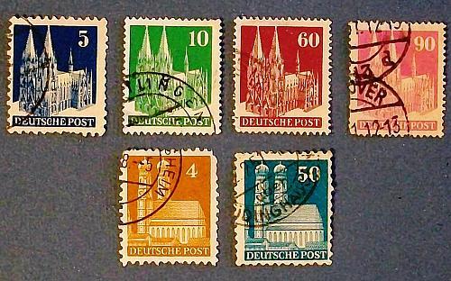 """1948 Germany """"Buildings"""""""