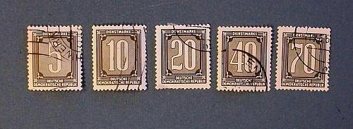 "1954 Germany (DDR Era) ""Numerical Issues"""
