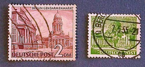 """1949 Germany (Berlin) """"Buildings"""""""