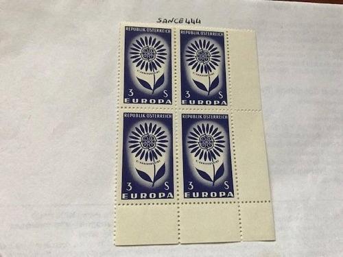 Austria Europa 1964 block mnh stamps