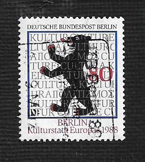 Germany Used Scott #9N568 Catalog Value $1.25