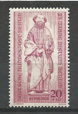 Germany Berlin Hinged Scott #9NB16 Catalog Value $1.35