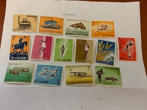 San Marino mnh stamps lot n.7