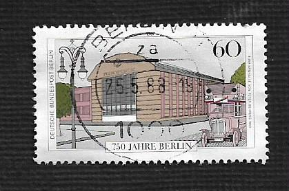 Germany Used Scott #9N537c Catalog Value $.75
