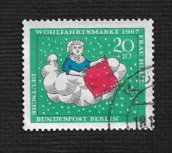 German Berlin Used #9NB50 Catalog Value $.25