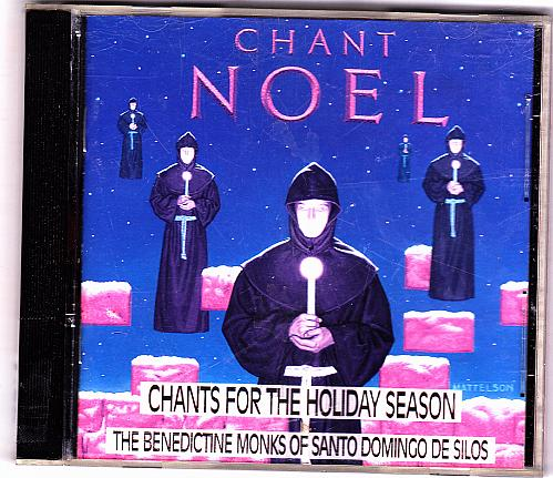 Chant Noel Holiday CD 1994 - Very Good