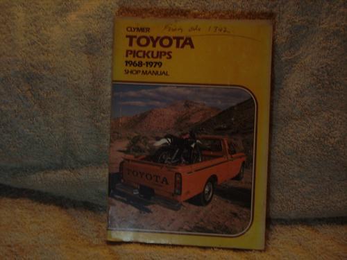 """Vintage:Clymer Shop Manual """"Toyota Pick-ups"""" 1968-1979"""