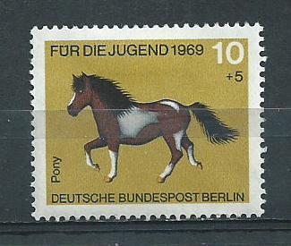 Germany Berlin Hinged Scott #9NB61 Catalog Value $.25