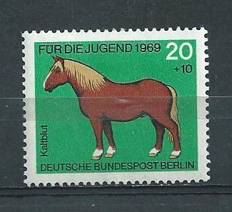 Germany Berlin Hinged Scott #9NB62 Catalog Value $.25
