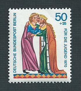 Germany Berlin Hinged Scott #9NB73 Catalog Value $1.05