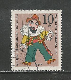 German Berlin Used #9NB74 Catalog Value $.25