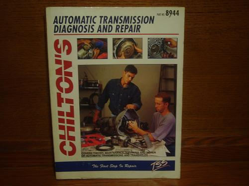 Chilton's Automatic Transmission & Diagnosis Repair Manual 1992 #8944