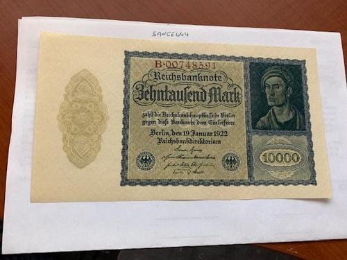 Germany 10000 marks banknote 1922