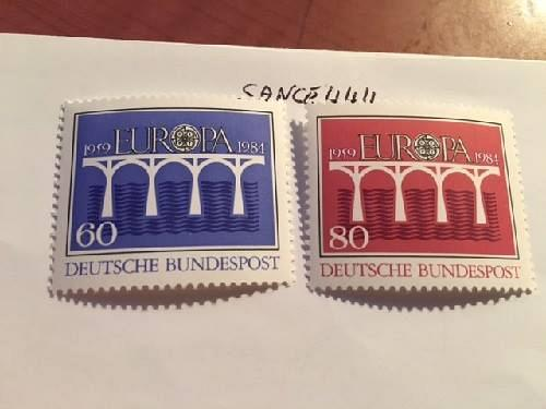 Germany Europa 1984 mnh stamps