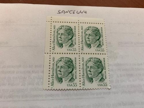 United States Alice Hamilton block 1995 stamps