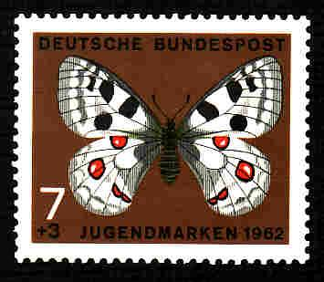 German MNH Scott #B380 Catalog Value $.35