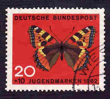 German Used Scott #B382 Catalog Value $1.00