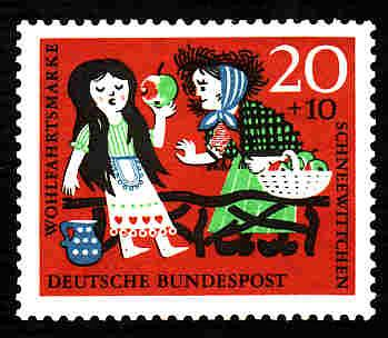German MNH Scott #B386 Catalog Value $.25