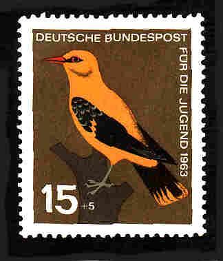 German MNH Scott #B389 Catalog Value $.35