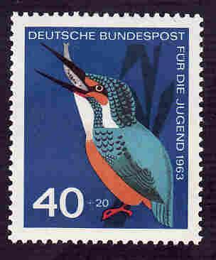 German MNH Scott #B391 Catalog Value $1.45