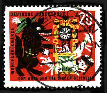 German Used Scott #B394 Catalog Value $.25