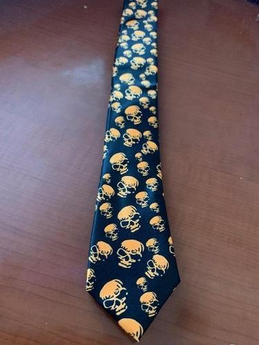 """Stylish premium quality skull slim 2"""" necktie"""