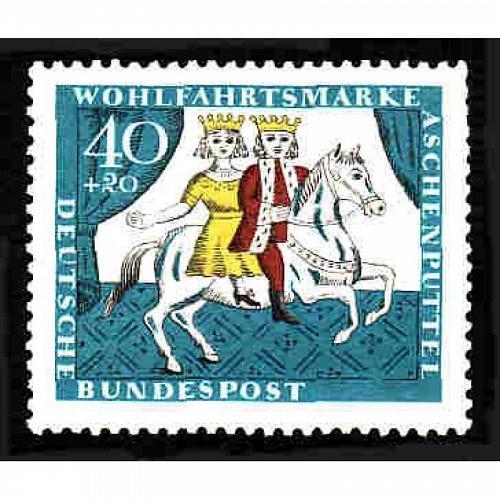 German MNH Scott #B411 Catalog Value $.30