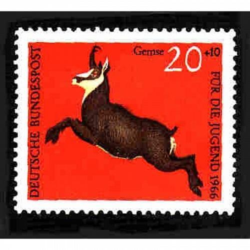 German MNH Scott #B413 Catalog Value $.25